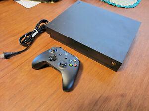 Xbox One X 1TB Black Console, Wireless Controller Black