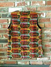 Incredible 1960S-1970S Hippie/Mod Carpet Vest Vintage Size S/M Womens/Unisex