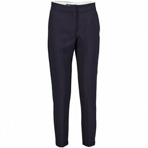 French Connection Whisper Ruth Tailored Womens Straight Trouser (Blue) RRP £75