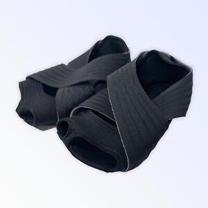 Nike WMNS STUDIO WRAP 2 BLACK size Med- 7.5-9 NIB