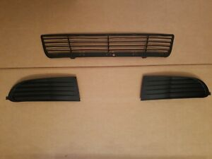3PC Set 2009-2019 DODGE JOURNEY Lower Grille Front Bumper w/o Fog Lights NEW