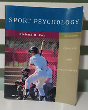 SPORT PSYCHOLOGY - SIXTH EDITION! BOOK BY RICHARD H. COX! TEXTBOOK!