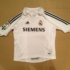 """Real Madrid (spain) Home Shirt Adidas Climacool Size 28/30"""" League Patch On Arm"""