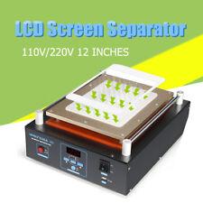 """12"""" LCD Screen Glass Separator Repair Vacuum Pump Machine For Phone Samsung"""