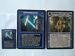 Star Wars ccg M/NM Special Edition complete set -> incl. 2 Rare oversized cards