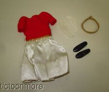VINTAGE BARBIE SKIPPER DOLL FASHION CLOTHES #1902 SILK N FANCY SET COMPLETE