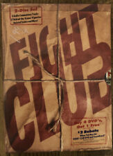 New! Fight Club Dvd, 2000, 2-Disc Set, Special Edition Double Digipack