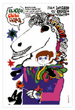 """Cuban decor Graphic Design movie Poster 4 film""""Magician CHILI cHALA""""Children"""