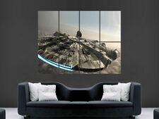 Halcón Milenario Star Wars Póster pared arte Foto impresión grande gigante enorme