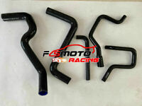 BLACK Fit Holden COMMODORE VS 3.8L V6 1995 1996 Silicone Radiator heater hose