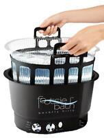 Footsiebath Pedicure Spa and Disposable Liner System Footsie Bath Foot Spa Nails