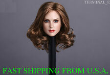 1/6 American Female Head Sculpt B For Hot Toys Phicen Female Figure ❶USA❶