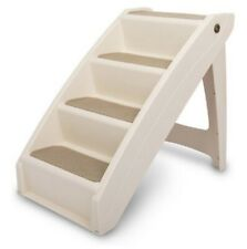 PetSafe CozyUp Folding Pet Steps for Dogs and Cats Tan