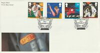 11 JUNE 1991 SPORT ROYAL MAIL UNADD FIRST DAY COVER SPORT FOR ALL WEMBLEY SHS