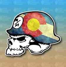 "Metal Mulisha Colorado State Flag 5"" Custom Vinyl Decal Sticker JDM"