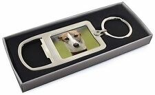Whippet Dog Chrome Metal Bottle Opener Keyring in Box Gift Mans, AD-WH2MBO