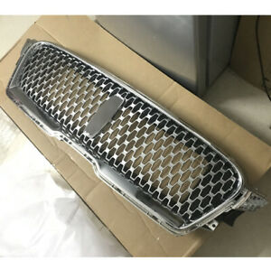 FIT For Lincoln MKZ 2017 2018 2019 Front Upper Grill Bumper Vent Grille Chrome