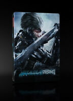 Metal Gear Rising Revenge G2 Steelbook Render Commando Edition PS3 - No game