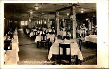 San Antonio TX Original Mexican Restaurant Dining RPPC Postcard unused (18770)