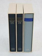 Lot of 3 ABRAHAM LINCOLN Speeches Anthology Library of America in Slipcases
