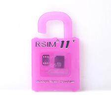 R-SIM11+ Nano Scheda di sblocco per iphone 7/6/6s/5 se PLUS 4G IOS 10.x LOTTO