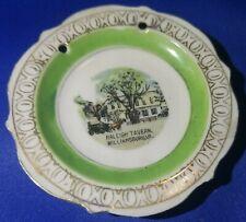 Raleigh Tavern Williamsburg Virginia Souvenir Mini Plate