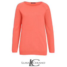 Luisa Cerano Orange Sweater Size 42 (UK 16) Box4574 H