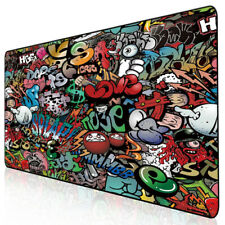 Gaming Mouse Pad Large Keyboard Extended Mat Laptop Desk Accessory Slip Size