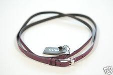 Nuevo Guess Cuero Mujer Cadera Cinturón Cintura 84-94cm t. M 90 (49) 1-16