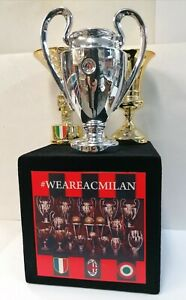 """Riproduzione """"MILAN STORICA"""" CHAMPION + SCUDETTO + COPPA ITALIA"""