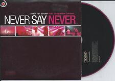 ARMIN VAN BUUREN ft JACQUELINE GOVAERT - Never say never CD SINGLE 2TR Trance