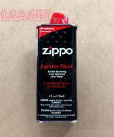 Zippo Premium Lighter Fluid 4 fl.oz (118ml) Can Fuel For Zippo Lighters