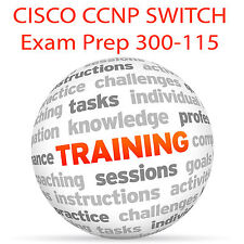 Conmutador Cisco Ccnp Exam Prep 300-115 - Video Tutorial DVD de entrenamiento