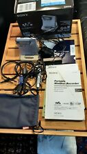 SONY MINIDISC MZ-N10, NET MDLP, LIKE NEW, COMPLETE WITH EVERYTHING, BOXED.