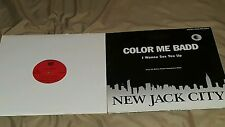 "COLOR ME BADD/I WANNA SEX YOU UP ALOT OF 2 ""12"" PROMO'S 1991 R & B VG TO VG+"