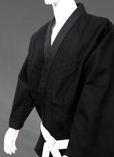 JUDO Black Uniform, Jiu Jitsu, Aikido with Free White Belt *FREE SHIPPING