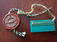 Vintage Genuine Rolex Hologram and Swimpruf Tag Set for Sub Sea-Dweller GMT etc