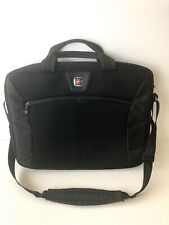 SwissGear 'The Sherpa' Slim case Computer Sleeve messenger bag-Black