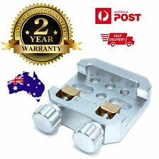 Large Universal Vixen Mounting Platform dual Clamp aluminium with brass clamps