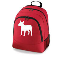 Bulldog Backpack,English Bull Terrier,French,Staffy,British Bulldog color choice