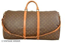 Louis Vuitton Monogram Keepall 60 Bandouliere Travel Bag Strap M41412 - YG00762