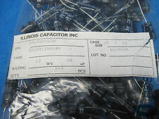 (100) ILLINOIS CAPACITOR Radial Electrolytic Capacitors: 68uF 63V (105ºC)
