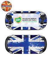 Ps Vita Union Jack Vinilo Etiqueta De La Piel-Azul-Playstation Vita Piel pegatinas