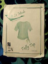 A' La Moda Taffy Top (Has been trimmed to a Size Medium) L.J.Designs 2005 Cute