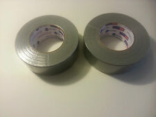 "CONTRACTOR'S GRADE DUCT TAPE-1.88"" X 120YDS-(BRAND NEW)-(2) ROLLS"
