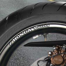 8 x Honda Racing Adesivi Per Cerchi Ruota Fireblade cbr vfr Fireblade Bandit B