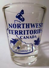 NORTHWEST TERRITORIES CANADA SHOT GLASS (6 IN SERIES OF 13). COLLECT  ALL!