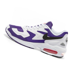 NIKE UNISEX Shoes Air Max 2 Light - White, Black, Purple & Pink - OW-AO1741-103