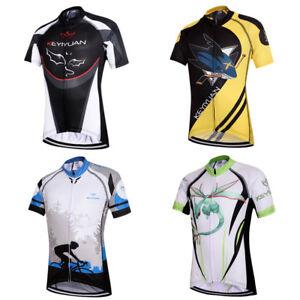 Kids' Cycling Jersey Short Sleeve Boys' Full Zip Bicycle Bike Wear Top Shirts