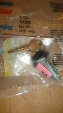 1980s CHRYSLER DODGE PLYMOUTH CARAVAN LEBARON GLOVE COMPARTMENT DOOR LOCK & KEYS